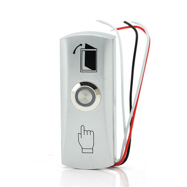 Купить Кнопка выхода накладная EXIT 805 узкая (накладная, алюминиевая)