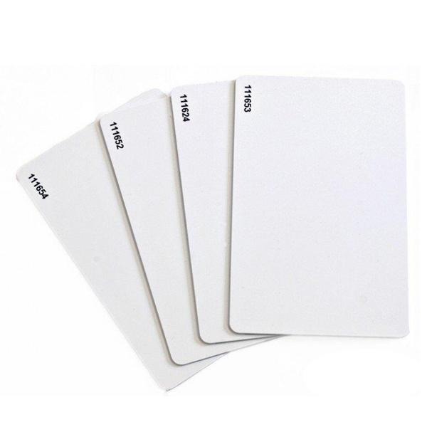 Купить Бесконтактная проксимити карта стандарта Em-Marine (TK4100), толщина 0,8 мм. Рабочая частота 125 КГц, цена за штуку