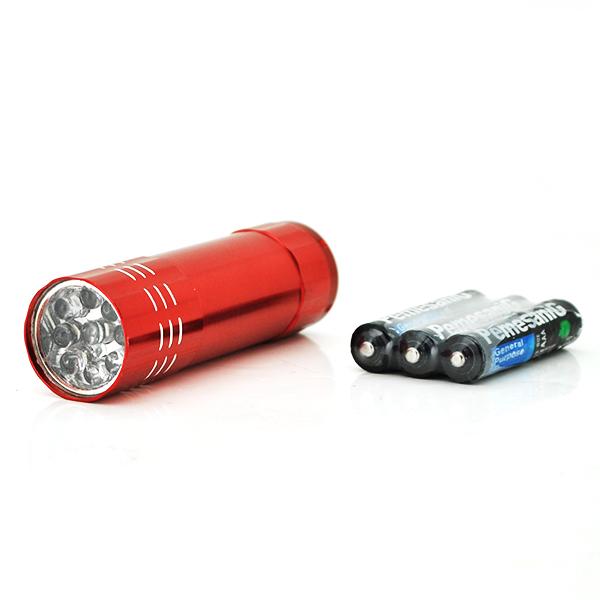 Купить Карманный фонарик Bailong BL-С709, 1LED, 1 режим, корпус- алюминий, питание 3*АА, 85*25мм, Red, ОЕМ