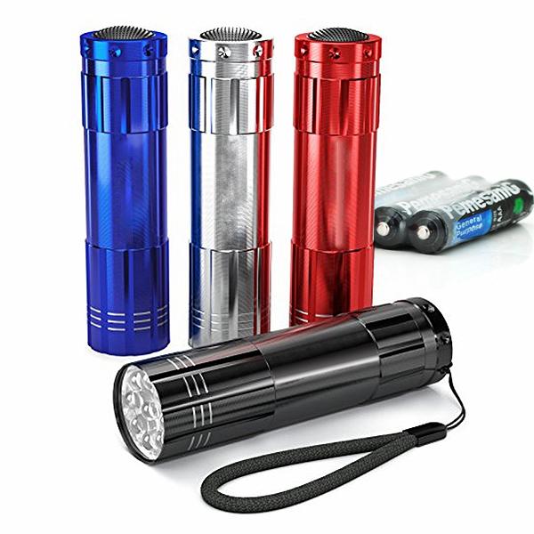 Купить Карманный фонарик Bailong BL-С709, 1LED, 1 режим, корпус- алюминий, питание 3*АА, 85*25мм, Black, ОЕМ