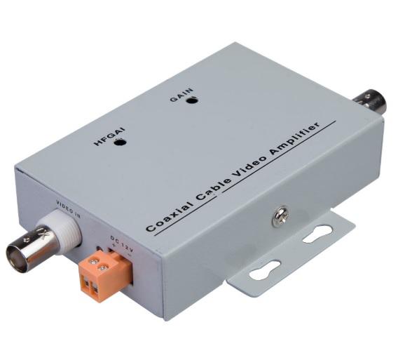 Купить Усилитель видео сигнала LRS-FDQ8  по коаксильному кабелю, корпус metal, BOX (144*92*32) 0.21 кг (95*62(86)*24)