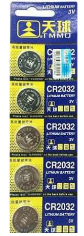 Купить Батарейка литиевая China CR2032, 5 шт в блистере (упак.100 штук) цена за блист.
